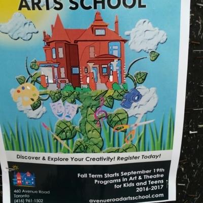 Avenue Road Arts School - Art Schools - 416-961-1502