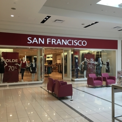 San Francisco - Clothing Stores - 450-923-4786