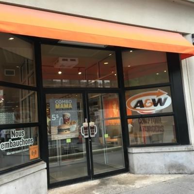 A&W - Restaurants - 514-396-5550