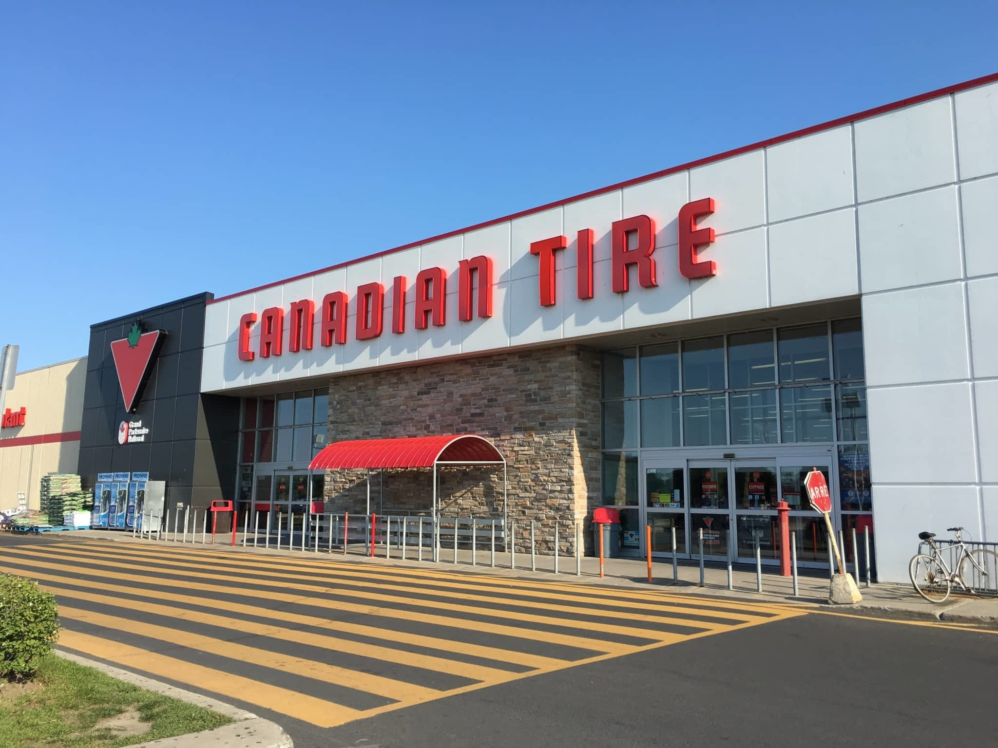 Canadian tire clothing store