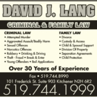 Lang David J Barrister & Solicitor - Personal Injury Lawyers
