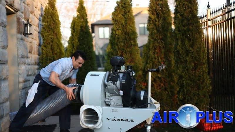 photo Air Plus Montreal Nettoyage de Conduits d'Air