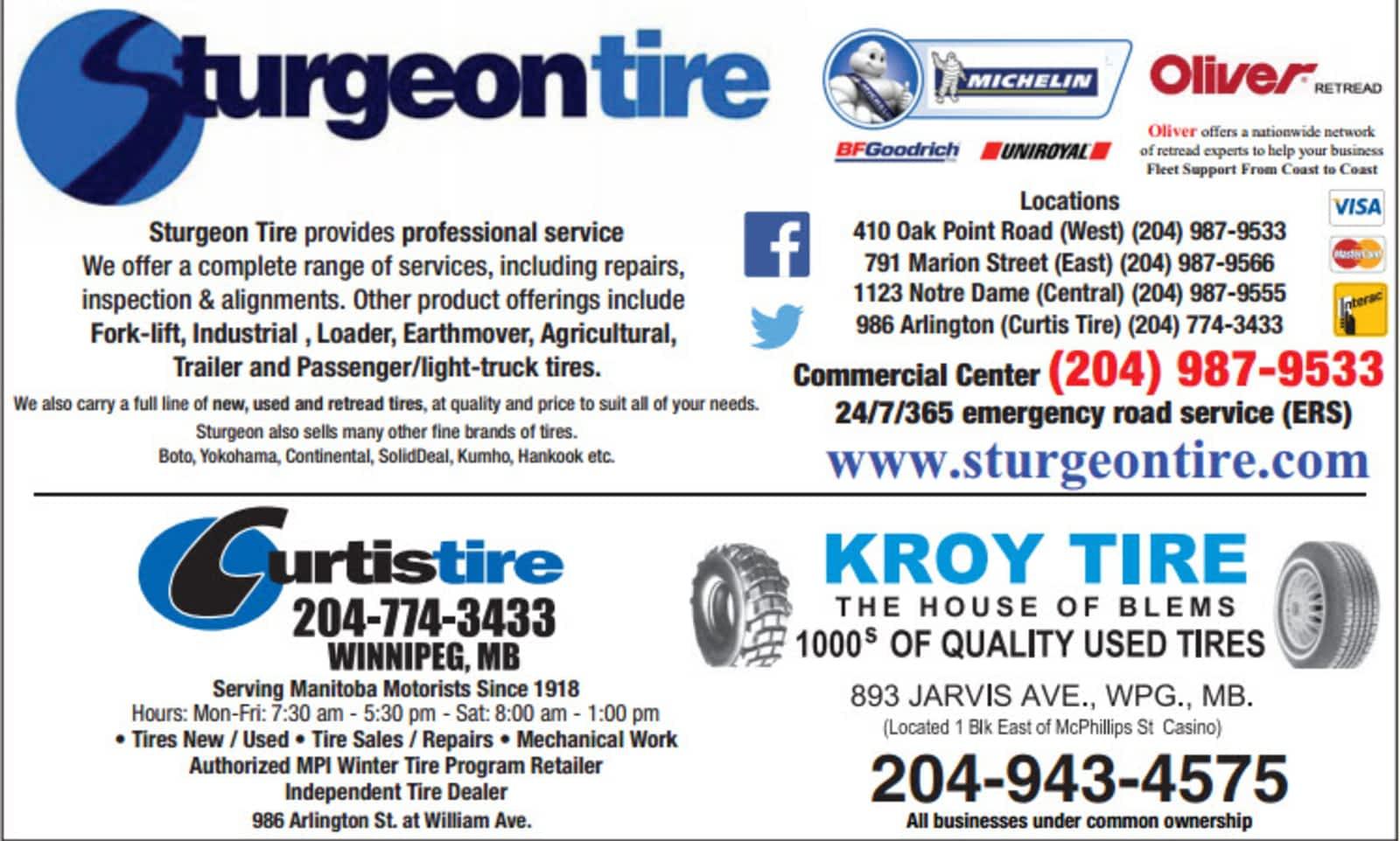 Used Tires Winnipeg >> Kroy Tire Opening Hours 893 Jarvis Ave Winnipeg Mb