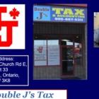 Double J's Tax & Accounting - Comptables professionnels agréés (CPA) - 905-667-5311