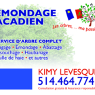 Émondage Acadien - Tree Service - 514-464-7741