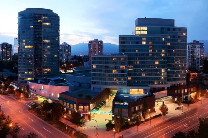 photo Hilton Vancouver Metrotown