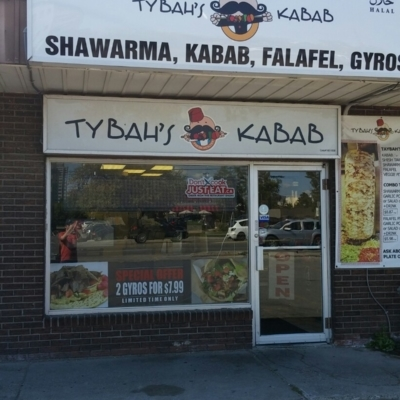 Tybahs Kebab - Restaurants - 905-240-4611