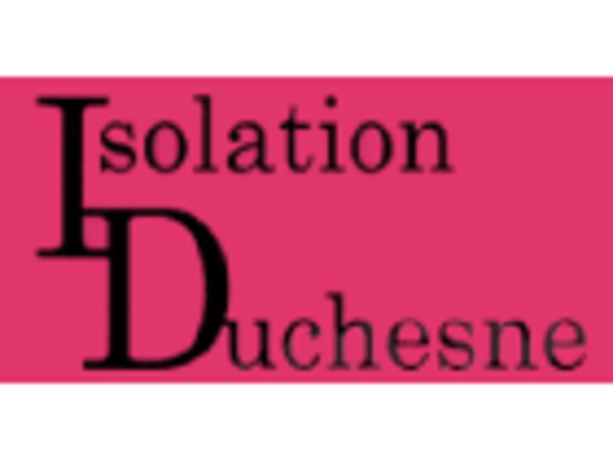 photo Isolation Duchesne