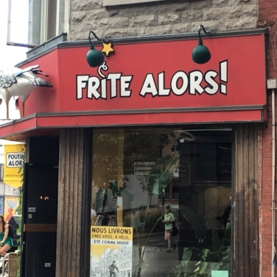 Restaurant Frites Alors - Burger Restaurants - 514-843-2490