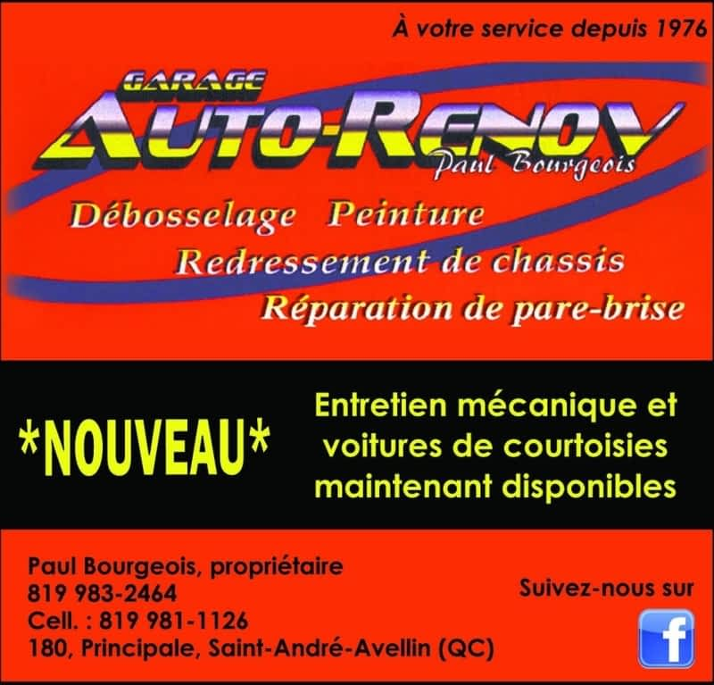Garage auto r nov paul bourgeois enr saint andr avellin for Garage renov auto