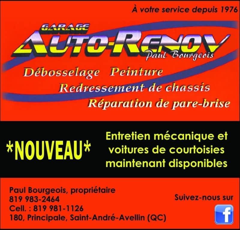 Garage auto r nov paul bourgeois enr saint andr avellin for Garage renov auto