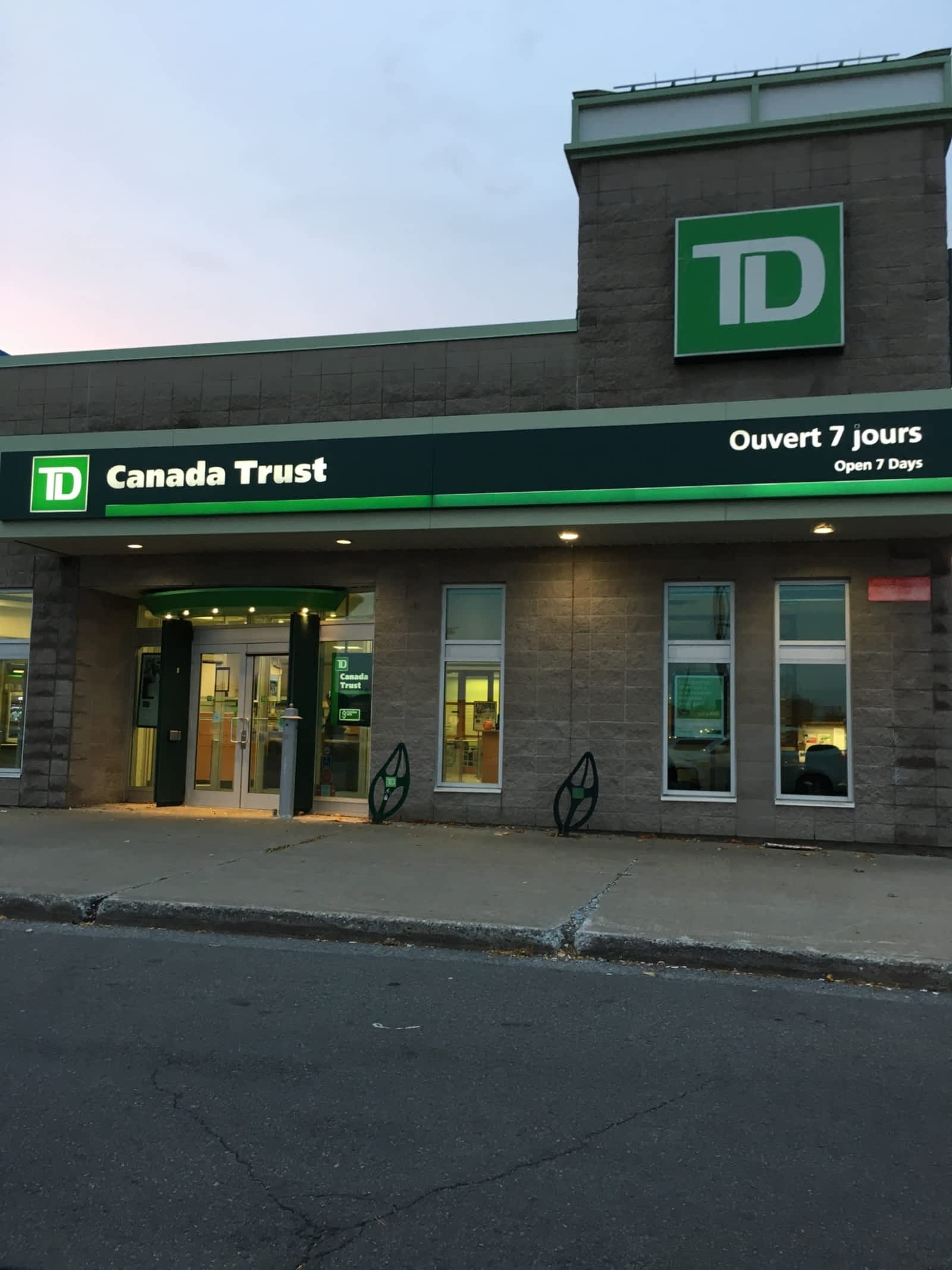 td bank branch hours of operation