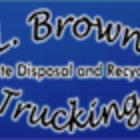 L Brown Trucking (2005) Ltd - Residential Garbage Collection - 403-938-4005