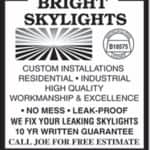 View Bright Skylights Inc's York profile