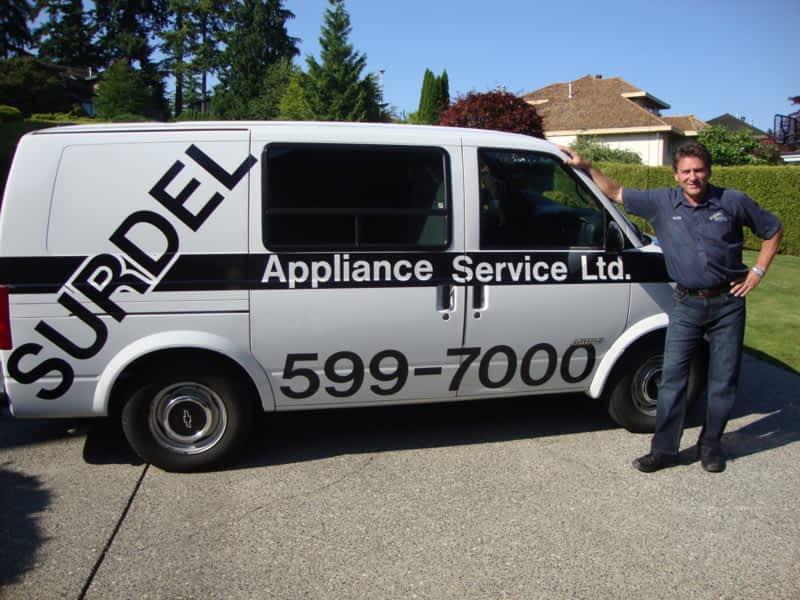 Surdel Appliance Service Ltd White Rock Bc 218 14855