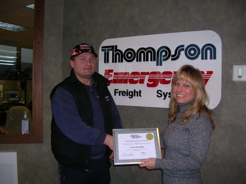 photo Thompson Emergency Freight Systems
