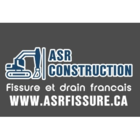 View ASR Construction Fissure de Fondation et Drain Francais's Sainte-Anne-de-Bellevue profile
