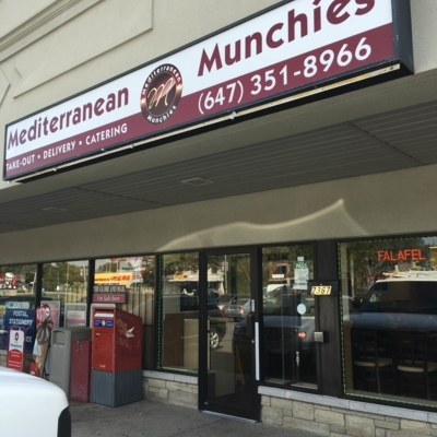 Mediterranean Munchies - Greek Restaurants - 647-351-8966