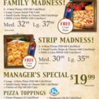 Godfathers Pizza - Fenelon Falls - Restaurants - 705-887-2600