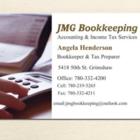 Jmg Bookkeeping - Logo