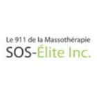 SOS Elite Inc - Le 911 De La Massothérapie - Logo