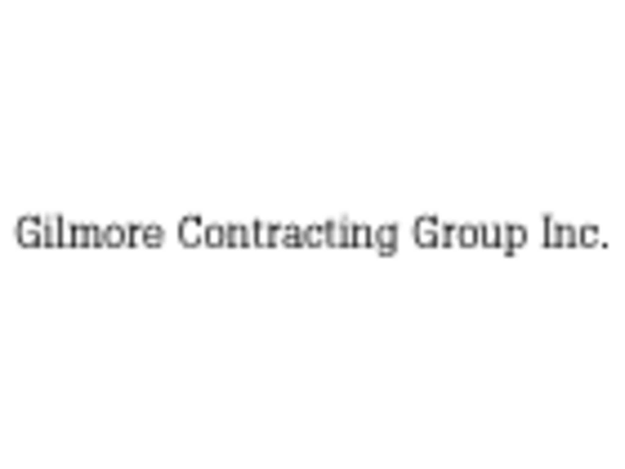 photo B E Gilmore Contracting Group