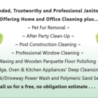 Bethany Cleaning Systems - Maid & Butler Service - 647-769-7069