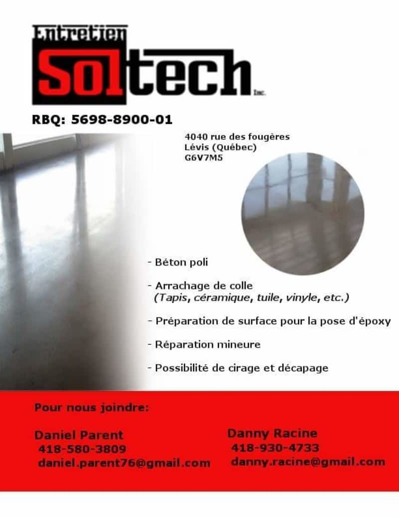 photo Entretien Soltech Inc