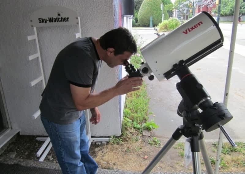 photo Vancouver Telescope Centre