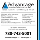 Advantage Learning Solutions Inc - Safety Training & Consultants - 780-743-5001