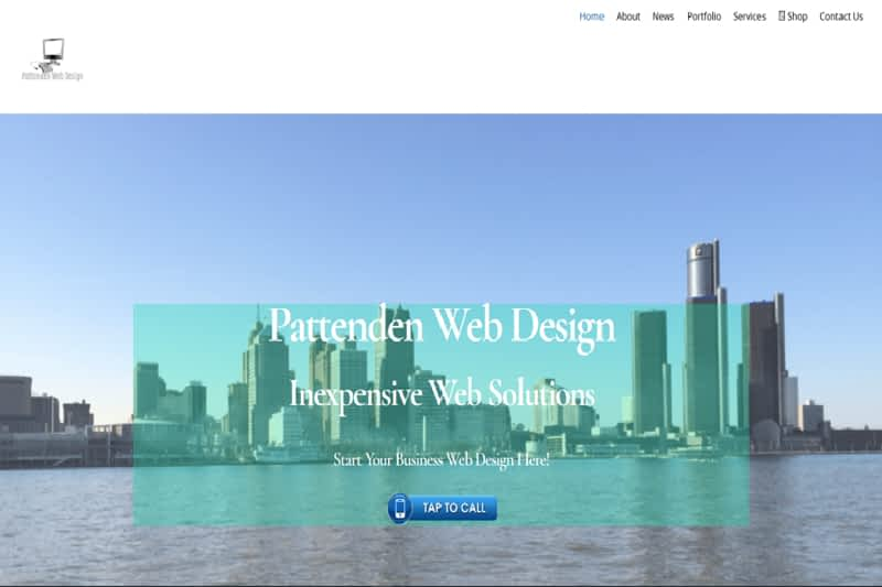 photo Pattenden Web Design