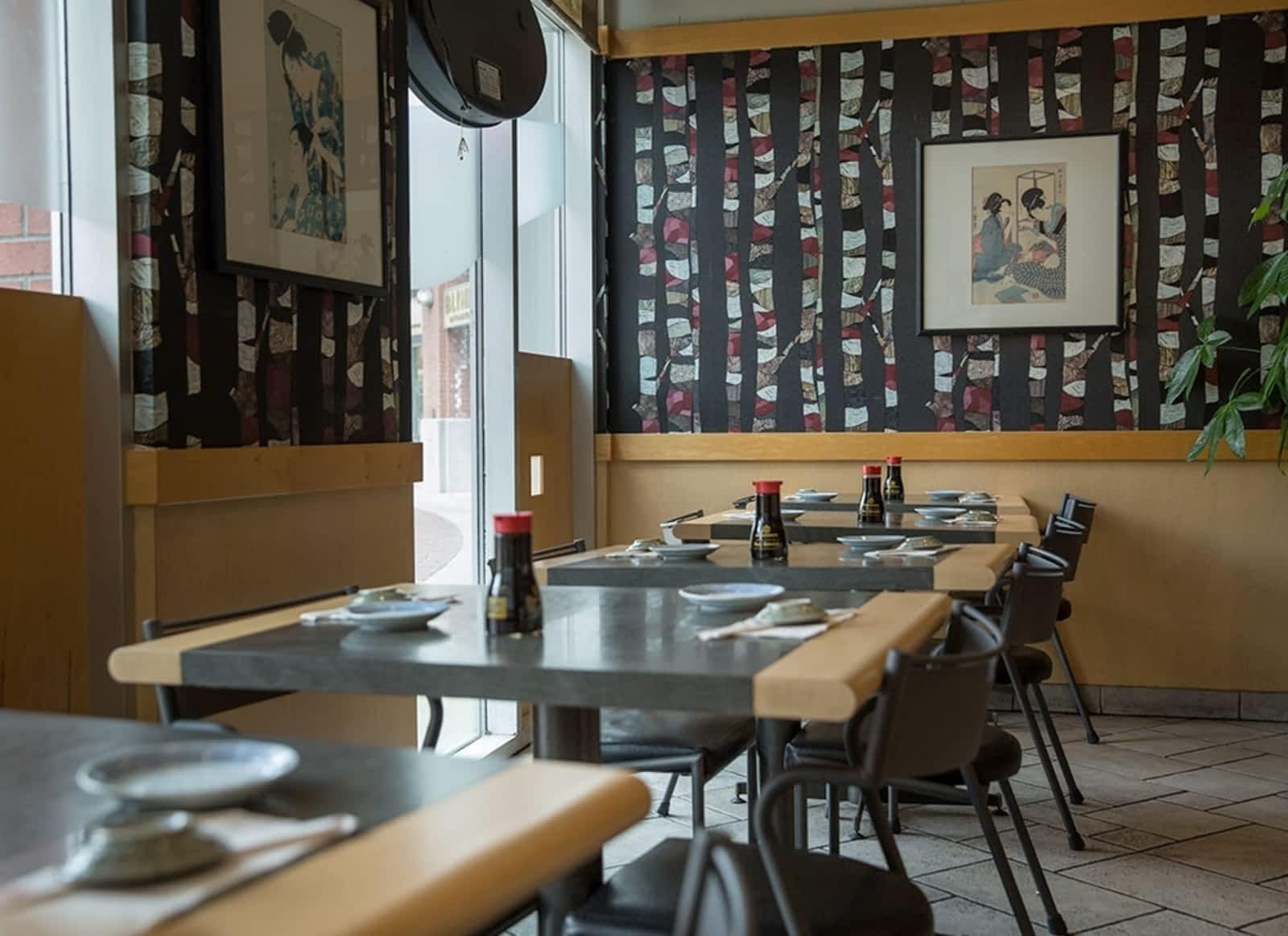 Honjin Yaletown Sushi Restaurant