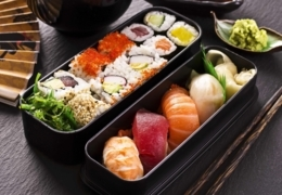 Melt-in-your-mouth healthy sushi in Edmonton