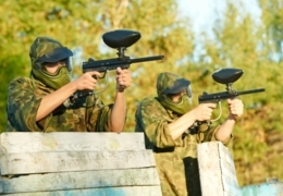 Multicoloured militia: Paintball arenas in the GTA