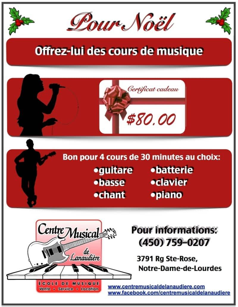 photo Centre Musical de Lanaudière
