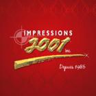 Impressions 2001 - Étiquettes en papier