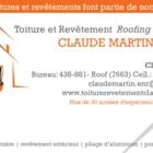 Toiture et Revêtement Claude Martin - Couvreurs - 514-756-7339