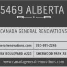 Canada General Renovations - Entrepreneurs généraux - 780-991-2246