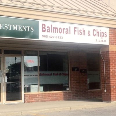 Balmoral Fish & Chips - Seafood Restaurants - 905-427-9123