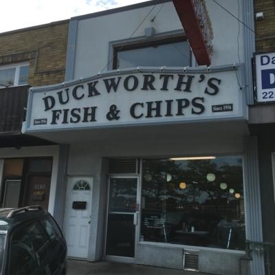 Duckworth's Fish & Chips Ltd - American Restaurants - 416-266-0033