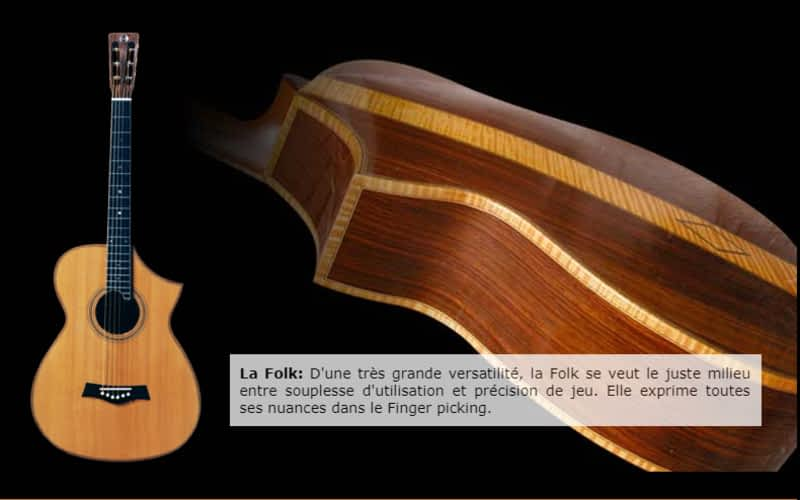photo Guitares Hayotuk-Lutherie Rive-Sud