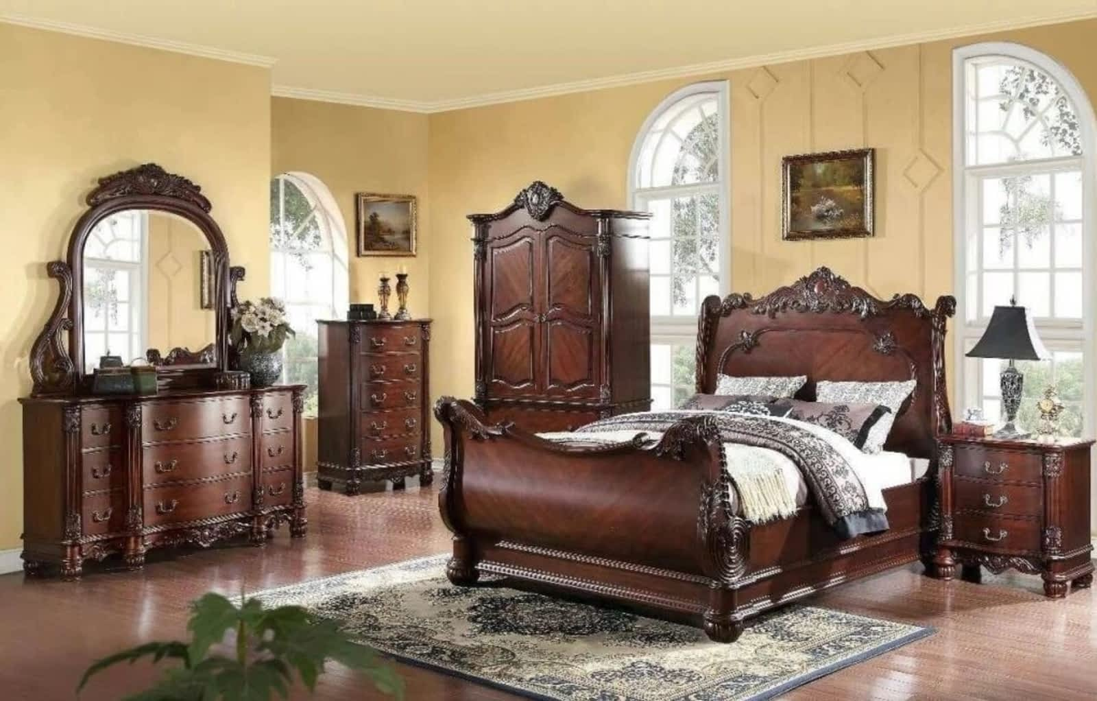 showplace products upholstered headboard furniture wingback queen and mattress decor