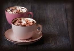 Divine hot chocolate in Calgary