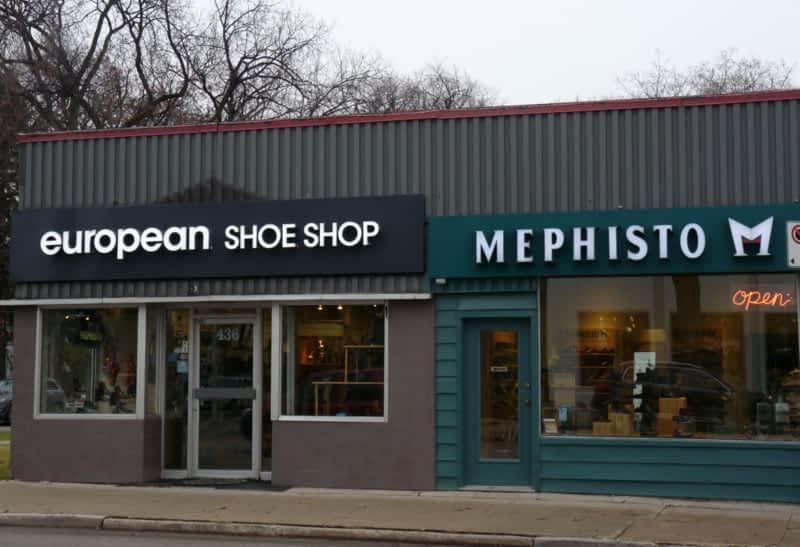 Academy Shoe Store Winnipeg