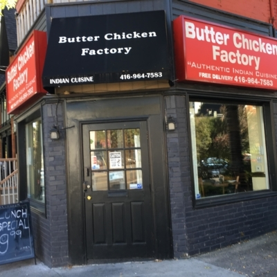 Butter Chicken Factory Inc - Asian Restaurants