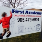 First Academy Child Care - Childcare Services - 905-479-6904