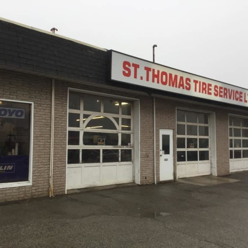 St Thomas Tire Service Ltd - St Thomas, ON - 905 Talbot St | Canpages
