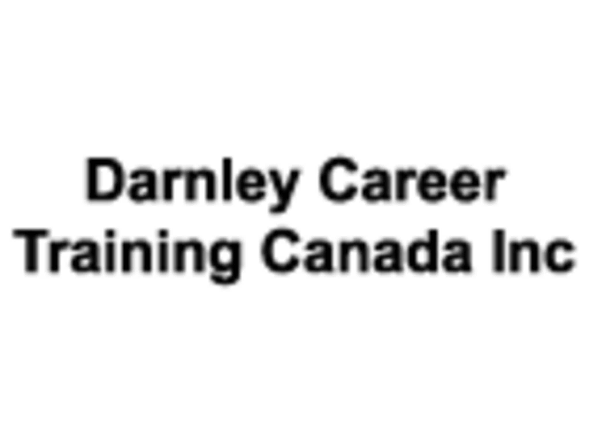 photo Darnley Career Training Canada Inc