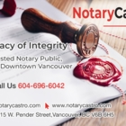 Notary Castro - Downtown Vancouver Notary Public - Notaries