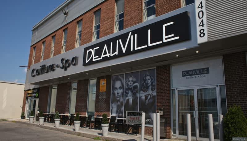 Salon deauville coiffure spa montr al qc 4048 rue for Cash piscine cuers